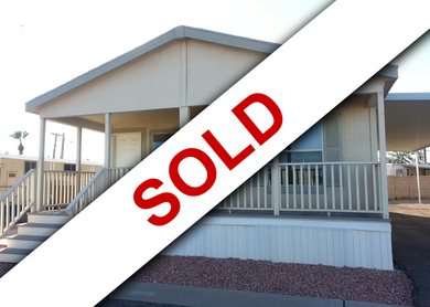 (SOLD) Champion Home 2 Bedroom